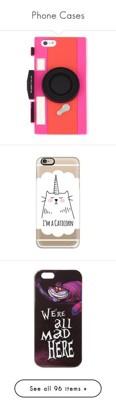 """""""Phone Cases"""" by bestgirlever ❤ liked on Polyvore featuring accessories, tech accessories, phone cases, geranium vivid sn, kate spade, phones, tech, case, iphone case and cat iphone case"""