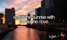 Sunset nd rise c;
