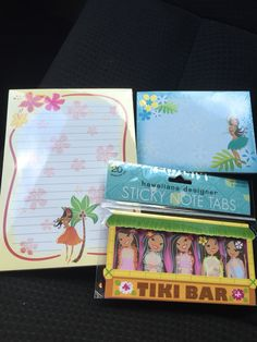 Planner Supplies-Hawaiian Sticky notes/Note Pad