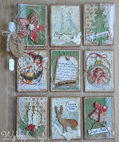 Cards made by Wybrich: pocket letter
