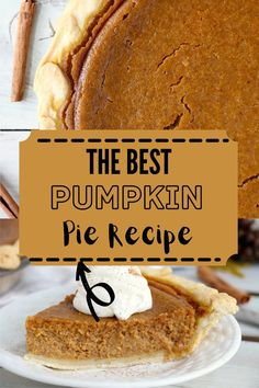 This Easy Pumpkin Pie is guaranteed to impress everyone. A light crust filled with a luscious flavorful filling makes the perfect pie! #pumpkinpie #easypumpkinpie Best Pumpkin Pie Recipe, Perfect Pumpkin Pie, Easy Pumpkin Pie, Incredible Recipes, Holiday Recipes, Party Recipes, Barbecue Recipes, Pinterest Recipes, Air Fryer Recipes