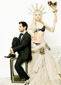 Mario Testino / V Magazine Photoshoot - Lady Gaga and Marc Jacobs