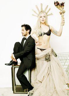 Mario Testino / V Magazine Photoshoot - Lady Gaga and Marc Jacobs
