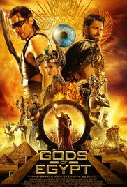 Gods of Egypt (2016): The story is all jumbled up and confusing. I'm a fan of Proyas, but this movie did not really connect with me,
