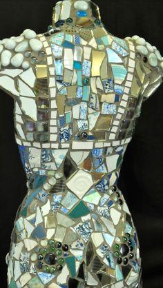 Mosaic mannequin. Commissions undertaken.  See saatchis on-line art gallery