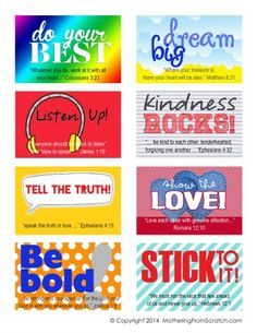 FREE Character-Building Lunchbox Notes By Mothering From Scratch Lunchbox Notes For Kids, Lunch Notes, School Lunch Box, School Notes, Free Characters, Quotes For Kids, Words Of Encouragement, Elementary Schools, Kids Meals