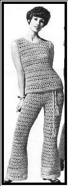Peek-a-Boo Wardrobe - 1970  Just LOVE these vintage patterns!