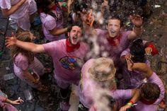Festa de São Firmino toma as ruas de Pamplona