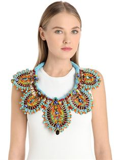 Leire beaded necklace