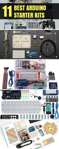 The first kit in the list is the Official Arduino Starter Kit. This kit includes several components using which you can make up to 15 projects