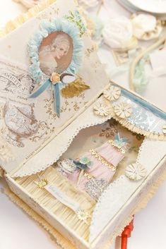 shadow box, marie antoinette