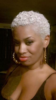 I Love Black Girls With Blonde Hair Asia Monet Natural