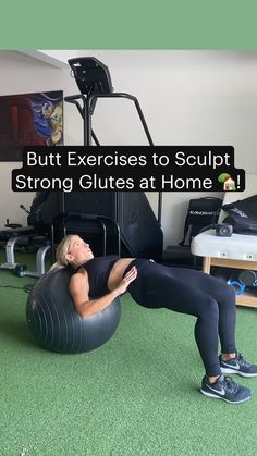 Leg And Glute Workout, Buttocks Workout, Gym Workout Videos, Gym Workout For Beginners, Fitness Workout For Women, At Home Workouts, Glute Workouts, Cardio, Leg Workout Routines