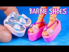 How to make Doll Shoes 1 - YouTube