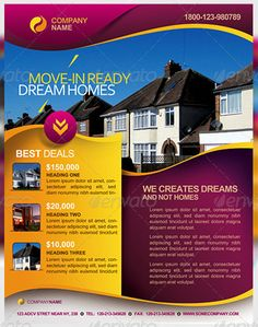 Check out Real Estate Flyer Templates by kinzi21 on Creative ...