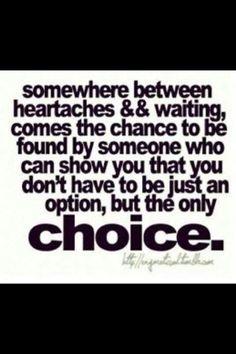 Between heartaches & waiting
