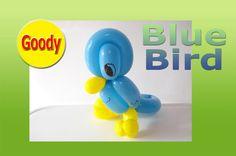 Bluebird Balloon 青い鳥の作り方  【かねさんのバルーンアート】