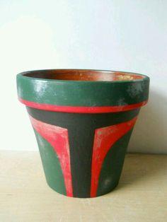 DIY Boba Fett Pottery
