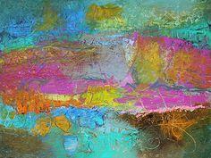 Prosodic [Magicicada] Acrylic on canvas, 30x40 www.duanecregger.com www.crossroadsartcenter.com