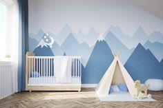 naklejki do pokoju dziecięcego, naklejki góry, naklejki na ścianę