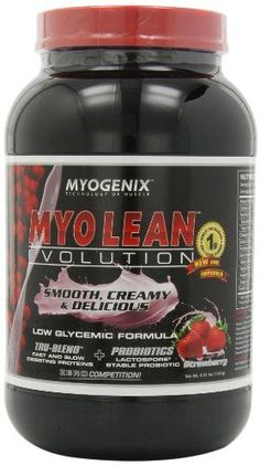 Myogenix Myo Lean Evolution smooth Creamy  Delicious Strawberry 231 Pounds * Be sure to check out this awesome product.