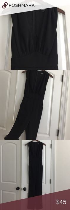 Low cut jumpsuit Worn once for dinner. In perfect condition. Lulu's Other