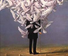 "artistinherownmind: "" Rene Magritte """