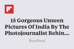 """15 Gorgeous Unseen Pictures Of India By The Photojournalist Behind """"Afghan Girl"""" http://flip.it/ke49i"""