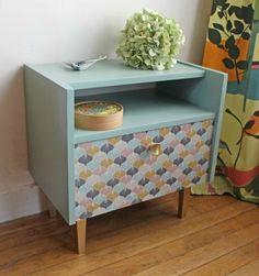 Decoupage Furniture, Deco Furniture, Refurbished Furniture, Upcycled Furniture, Furniture Makeover, Painted Furniture, Home Furniture, Home Organization Hacks, Home Comforts