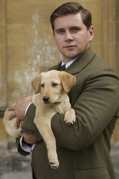 How utterly adorable! The puppy is pretty cute too. Allen Leech Online