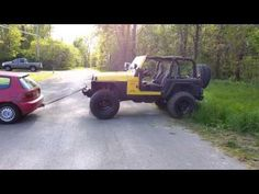 Car Towing The Jeep Fail - #funny #fail