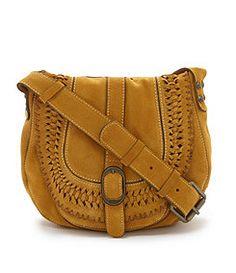 Patricia Nash Gravina Suede Cross-Body Bag