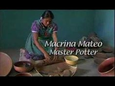 Potters of San Marcos video -- Mexico  follows process from digging clay to throwing a pot, without a wheel
