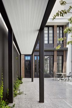 Park Street Residence, South Yarra by B.E Architecture | Yellowtrace Walkway, Garage Doors, Construction, How To Plan, Outdoor Decor, Ideas, Home Decor, Sidewalk, Homemade Home Decor
