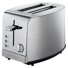 Buy Russell Hobbs Deluxe 2-Slice Toaster, Silver Online at johnlewis.com