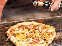Get Prime-Time Pizza Dough Recipe from Food Network
