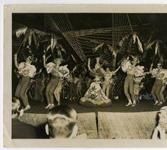 Carmen Miranda performing at the Tropicana nightclub in Havana, Cuba :: Cuban Photograph Collections