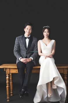The best Korea pre-wedding photo shoots. STUDIO, S Wedding Photography Poses, Wedding Poses, Wedding Suits, Wedding Couples, Wedding Dresses, Wedding Venues, Wedding Tags, Hair Wedding, Party Wedding