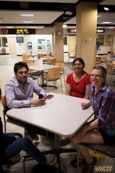 #UW365 Summer in Laramie is laid back. Friends Karan, Dharani, Adrianne, and others gather in the Union.