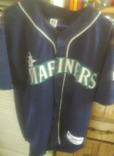 Authentic Russell Athletic Seattle Mariners 2001 MLB All-Star Jersey SZ 48 rare please retweet