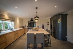 mckenna + associates - Modern Farmhouse Design - Full service Architectural Firm based in Trim Meath. Beautiful Kitchen Designs, Beautiful Kitchens, Modern Farmhouse Design, Architecture, Table, Furniture, Home Decor, Arquitetura, Decoration Home