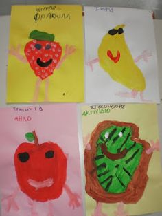 Kids draw fruits!