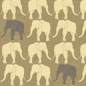 Elephant_ivory by Holli_zollinger at Spoonflower