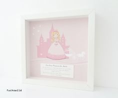 Geschenke zur Geburt, Geschenke zur Taufe, Taufgeschenke, Druck kleine Prinzessin 1