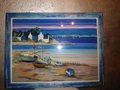 mer et ciel (pastel sec)
