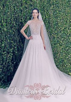 Dimitra's Bridal Couture Zuhair Murad Bridal Collection www.dimitrasbridal.com