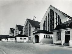 Großmarkthalle München, built between 1910 -12