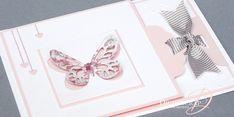 Tutoriel Carte Invitation Baptême «Perforatrice Etiquette Festonnée» – Djudiscrap