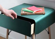 Cabinet - Gerard Arqué Anodized Olive Aluminium Steel Wood Structure