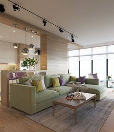 Fabulous house design with wooden accent and pastel color...   Visit : roohome.com #house #design #decoration #amazing #awesome #Gorgeous #great #fabulous #unique #simple